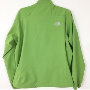 North Face green fall jacket size Large